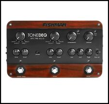 Fishman Tonedeq AFX Preamp FX Acoustic Guitar , EQ, and DI Effects Pedal
