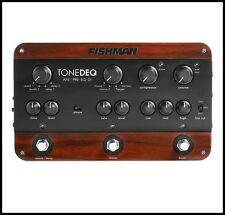 Fishman Tonedeq AFX Preamp FX Acoustic Guitar , EQ, and DI Effects Pedal