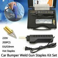 Kunststoff Reparatur Werkzeug Hot Stapler Schweißen Kit Mit 200 Stück Staplers