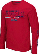 NEW Colosseum Men's Ole Miss Rebels Kodos Long Sleeve T-Shirt Size Medium