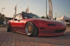 Mazda MX5 NA MK1 Custom Bunny Style Bodykit Miata MX-5 Lip Over Fenders Ducktail