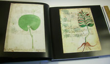 Voynich Manuscript ILLUSTRATED CODEX Cryptography Glyphs alchemy LIMITED Edition