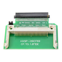 """CF Compact Flash Merory Card to 50pin 1.8""""  IDE Hard Drive SSD Adapter Converter"""