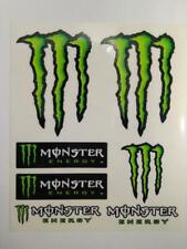 Stickers Pegatinas Monster Energy Kit 6 adhesivos 16 x 14 cm en total KUM 15825