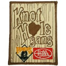 1980s Knothole Gang Baseball Patch Pittsburg Pirates Hills Department Store