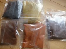 VARNISH COLOURING KIT, 5 PIGMENTS, FOR LUTHIER VIOLIN, CELLO, INSTRUMENT VARNISH