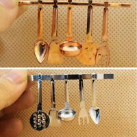 6Pcs/set 1:12 Dollhouse Miniature Cookware Tools Kitchen Dollhouse Accessorie FT