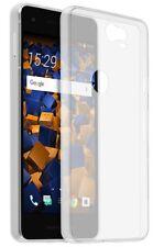 mumbi Hülle für Google Pixel 2 Schutzhülle Ultra Slim klar Case Tasche Cover