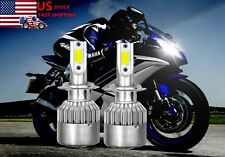 2PC H7 90W 6000K LED Headlight Bulb kit for Yamaha YZF-R6 2003-15 YZF-R1 2007-14