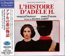 "Maurice Jaubert ""L'HISTOIRE D'ADELE H."" soundtrack Japan CD out of print"