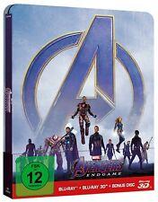 AVENGERS: ENDGAME (Blu-ray 3D + Blu-ray Disc) Steelbook NEU+OVP