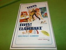 ELVIS PRESLEY Clambake MOVIE POSTER Reproduction NEW! 11x17