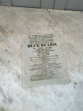 More details for antique playbill or flier new theatre royal 1811 knight of snowdoun grimaldi