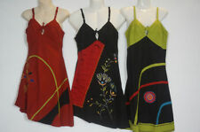 Handmade Above Knee Peasant, Boho Skirts for Women