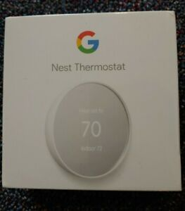 Google Nest Smart Thermostat - Snow - Brand New and Unopened