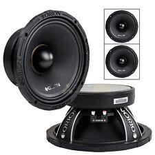 "2 Pack Orion 10"" High Efficiency Mid Range Speaker 2000 Watt 8 Ohm Loud XTX1058"