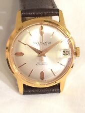 Vintage Gold Plated Swiss SIVERWATCH Automatic 25 Jewel Mens Dress Watch