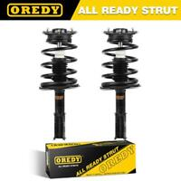 2X Front Left Right Complete Struts Coil Springs w/Mounts 151382 For Buick 90-99