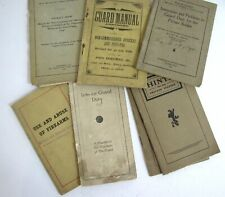 1900s Militia Manuals for Non Commissioned Officers Lot 7 Guard Duty Firearms