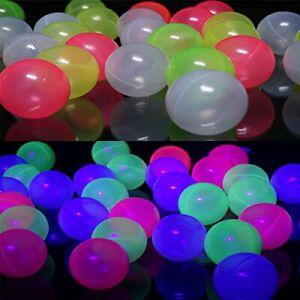 Bällebad Bälle SCHWARZLICHT aktiv 6cm UV6 Gewerbequalität