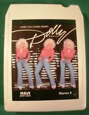8 track-Dolly Parton-Here You Come Again-Refurbished new pads & sensing foil
