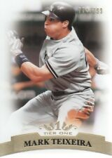 2011 Topps Tier One Baseball #29 Mark Teixeira 774/799 New York Yankees