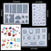 83/94Pcs Handmade Crystal Glue Mould Jewelry Best Diy Kit Silicone Mold Art Set