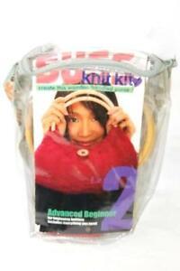 Suss Knit Kit Wood Handled Purse Red Level 2 Advanced Beginner NIP
