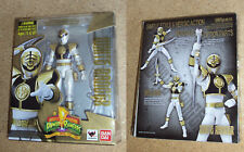 Bandai S.H. Figuarts Mighty Morphin Power Rangers White Ranger Action Figure