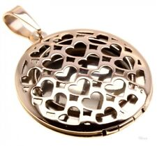 Pendant Stainless Steel me616019 Free Medallion Round Hinged for 2 Photos
