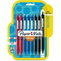 """Blue Black OR Red PAPER MATE /""""Pro Fit/"""" 70739 Retractable 1.2mm Med Ballpoint-"""