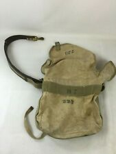VTG Bell System Canvas & Leather Lineman Equipment Climbing Tool Bag w/Belt A10