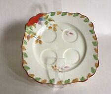 "Handcraft Ware Made In England 6.5"" Ceramic Cruet Plate Holder"