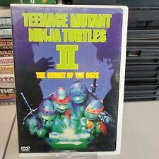 Teenage Mutant Ninja Turtles II: The Secret of the Ooze  60% OFF 4+ DVD $2 Each