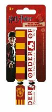 Harry Potter (gryffindor) Pack of 2 Fabric Festival Wristbands by Pyramid