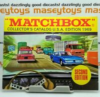 MATCHBOX LESNEY 1969 Collector's Catalogue USA issue MINT Second Edition