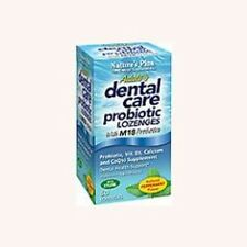 Adult's Dental Care Probiotic Lozenges Nature's Plus 60 Lozenge