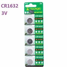 3V CR1632 DL1632 ECR1632 3 Volt Button Coin Cell Battery for CMOS watch toy x5