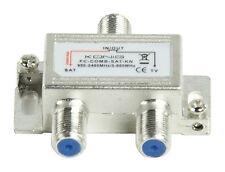 SATELLITE TV AERIAL SIGNAL COMBINER SPLITTER DIPLEXER VHF UHF F SAT CABLE NEW