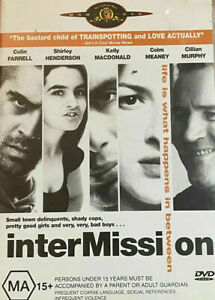 Intermission DVD Inter Mission - Irish Comedy Movie Colin Farrell Cillian Murphy