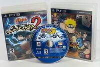 Naruto Shippuden Ultimate Ninja Storm 1 2 3 Generations Revolution PS3 LOT