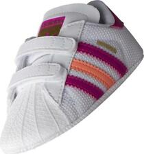 adidas Superstar Baby Infant Crib Shoes Trainers SNEAKERS Girls Boys Size 2k