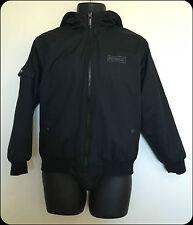 Child's/Kids Airwalk Hooded Jacket/Coat in Black size 13 with Hood