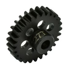 Hot Racing NSG27M1 27t Steel Mod 1 Pinion Gear 5mm