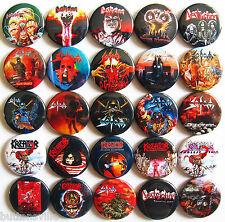 SODOM DESTRUCTION KREATOR Button Badges Pins German Thrash Metal Lot of 25