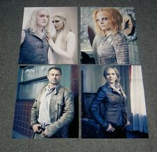 SET OF FOUR DEFIANCE,TV SERIES 10 x 8 PHOTO'S,BARGAIN LOT.FREE POSTAGE! 24