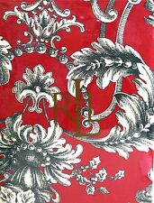New listing Set / 4 Ralph Lauren Cotton Napkins Christmas Holiday Hayley Red Green Ivory New