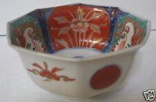 Japanese Imari Octagonal Porcelain Bowl