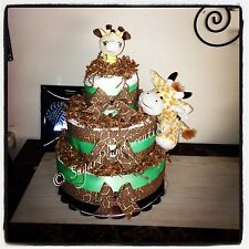 Giraffe Three Tier Diaper Cake