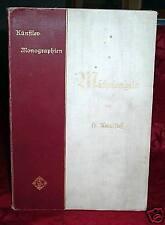 Knackfuß, Michelangelo, Künstler-Monographien, 1899